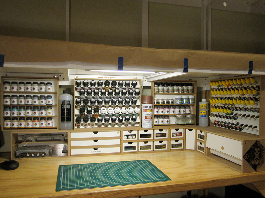 ideas for a garage workshop - Workbench Reorganization